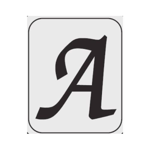Amazon.com : Cattleman's Brand Icon Letter- A : Grill