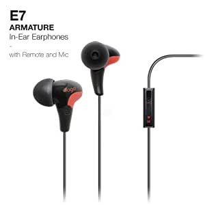 elago E7 ARMATURE In-Ear Noise-Reducing Earphones (Compatible iPhone 4, 1G/3GS; Control-Talk with Built In Microphone)