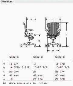 Aeron Chair Aluminum Frame Leather Arms by Herman Miller - Home ...