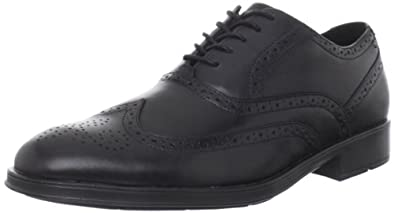 Rockport Men's Almartin Wingtip,Black,10 M US