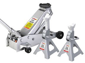 Check Out This OTC 1500A Stinger Jack Pack with 3 ton Service Jack And A Pair Of 3-ton Jack Stands