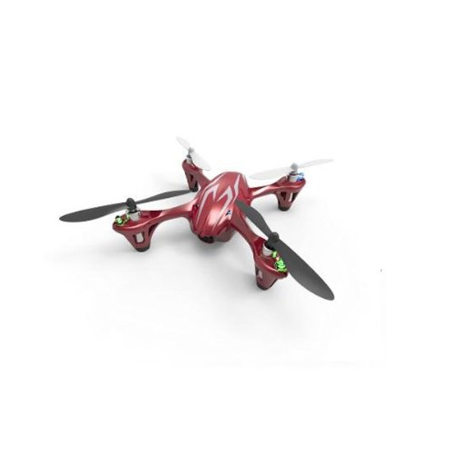 Hubsan X4 H107C Upgraded 2.4G 4Ch Rc Quadcopter With 2Mp Camera Rtf ,Red White,Mode 1 Right Hand Throttle