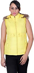 Montreal Women Jacket(Yellow,Large)