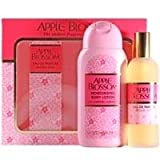 Apple Blossom by Apple Blossom Eau de Parfum Spray 100ml & Body Lotion 200ml