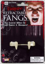 [Retractable Vampire Fangs Adult PROD-ID : 1447491] (Retractable Vampire Fangs)