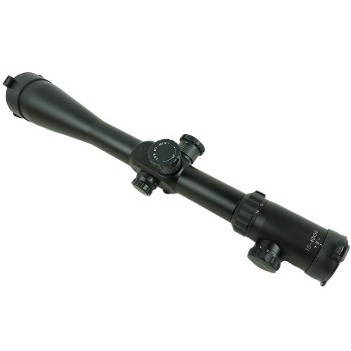 10-40×56 Mil Dot Reticle Rifle Scope High Resolution Zoom 4