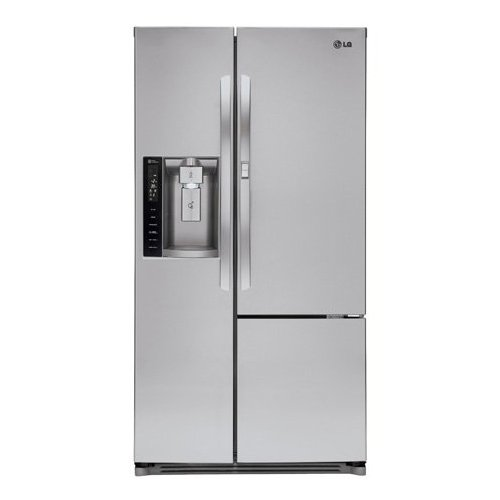LG LSXS26366S 35-Inch Side by Side 26 Cubic Feet Freestanding Refrigerator, Stainless Steel (Lg Refrigerator Side By Side compare prices)