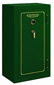 Stack-On FS-24-MG-C 24-Gun Fire Resistant Safe with Combination Lock, Matte Hunter... by STACK-ON
