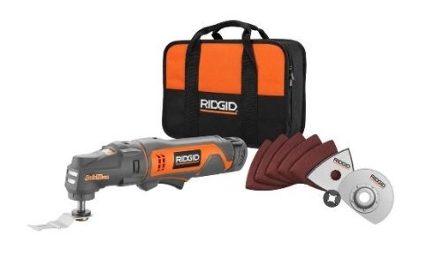Ridgid R82236 12V Cordless JobMax Oscillating Multi-Tool Starter Kit