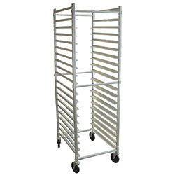 "Value Series FAKDBR12 Bun Pan Rack - 5"" Slide Spacing, 12 Pan Capacity"