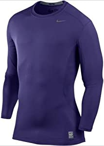 ef4c3f61 Holiday Deals Nike 449788 Core Fitted LS Top 1.2 Purple Sports & Outdoors