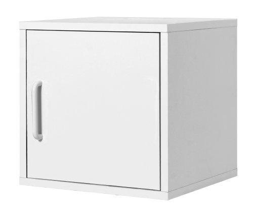 Foremost 327501 Modular Door Cube Storage System, White
