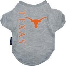 Ncaa Texas Longhorns Pet T-Shirt, X-Large, Team Color front-731649
