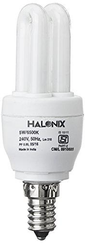 Halonix Super Saver 5W E14 CFL Bulb (Cool..