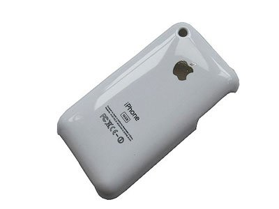 Hard Cover Case for iPhone 3G, 3G S White
