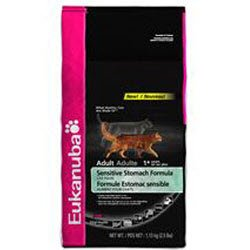 Detail image Eukanuba Sensitive Stomach Dry Cat Food 7lb