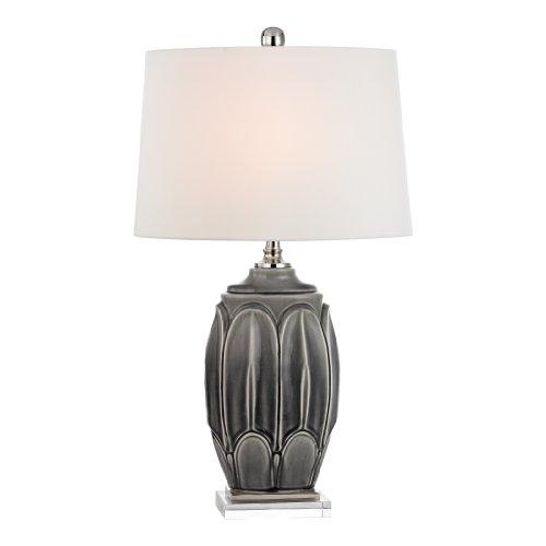 Dimond Lighting D2450 Ceramic Table Lamp, Antique Grey Glaze