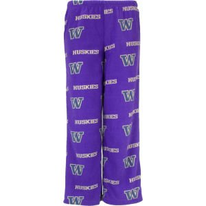 Buy Washington Huskies College Concepts NCAA Youth Flannel Pants by College Concepts