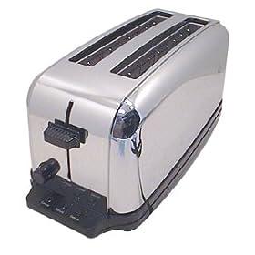 Conair WCT704 Chrome 4-Slice Toaster