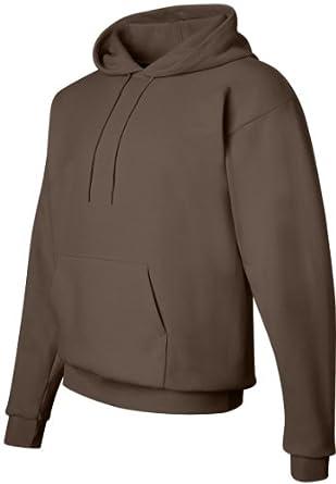 Hanes Comfortblend Pullover Hoodie Sweatshirt, S-Brown