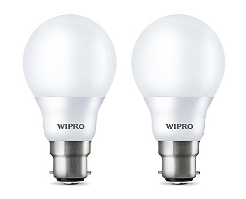 Wipro 7W Garnet LED Bulb (Warm White, Pack of 2)