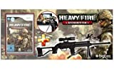 Heavy Fire Afghanistan Wii + Sniper Gun [German Version]