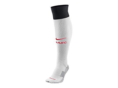 Nike Manchester United Goalkeeper Stadium Socks [FOOTBALL WHITE/JETSTREAM/BLACK/DIABLO RED] (L)