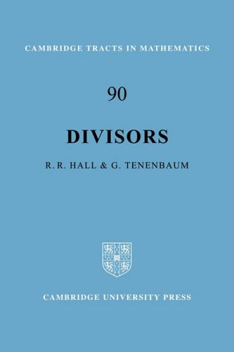 Divisors (Cambridge Tracts in Mathematics)