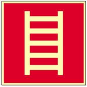 Schild-Leiter-HIGHLIGHT-PVC-20-x-20cm-gem-ASR-A-13BGV-A8DIN-4844