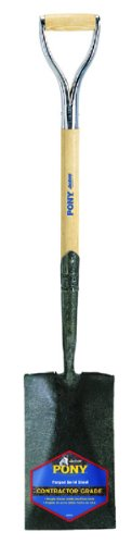 Ames True Temper Pony Garden Spade D-Handle 1230200 (Discontinued by Manufacturer)