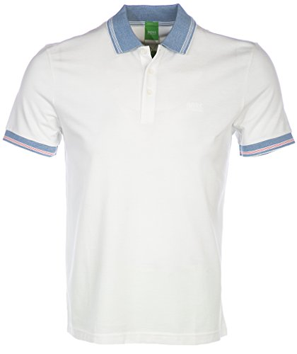 Hugo Boss Polo Shirt C-Firenze in White XL