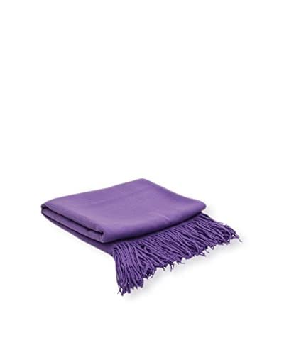 PÜR Cashmere I Can't Believe It's Not Cashmere Throw, Morning Glory