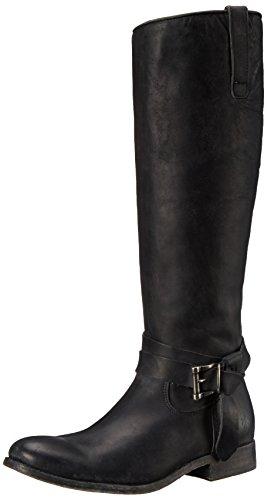 frye-melissa-knotted-damen-us-75-schwarz-mode-knie-hoch-stiefel