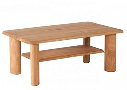 Four House 7668 White Solid Wild Oak Coffee Table