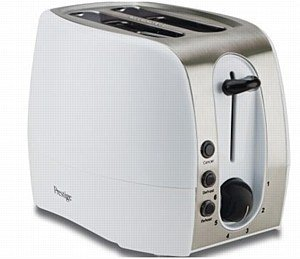 Prestige 2 Slice Toaster - Red from Meyer