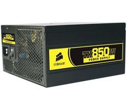 Corsair - Power Supply Unit - ATX 12V 2.2 - Single 12V Rail - TX850TW - 850W