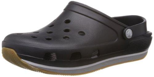 Crocs Retro Sabot U, Zoccoli e sabot, Unisex - adulto, Nero (BKLG), 36-37