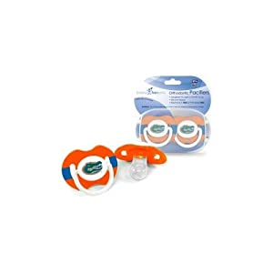 Buy NCAA Florida Gators 2 Pack Pacifier by BaFanatic