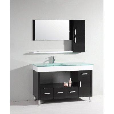 Legion Furniture Yarmouth 55 in. Single Bathroom Vanity Set
