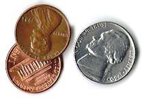 realistic looking Fake coins