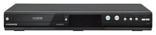 MAGNAVOX MDR513H/F7 HDD and DVD Recorder with Digital Tuner, Black