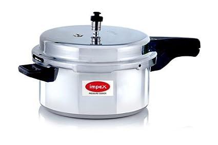 Impex-NORMA-5-Aluminium-5-L-Pressure-Cooker-(Outer-Lid)