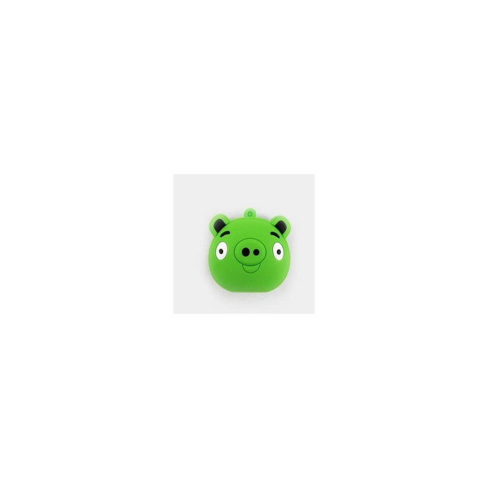 New Angry Bird Style Cartoon USB Flash Drive(Green Pig Face)