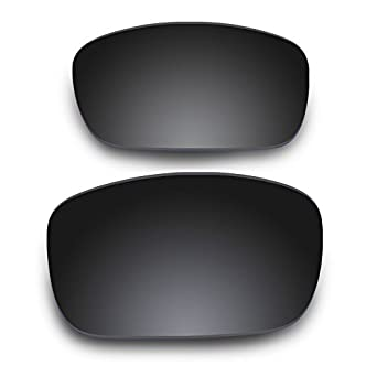 Fuse Lenses for Oakley Split Jacket Black Chrome Mirror Tinted Lenses
