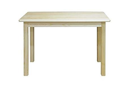 Tisch 60x120 cm Kiefer massiv, Farbe: Natur