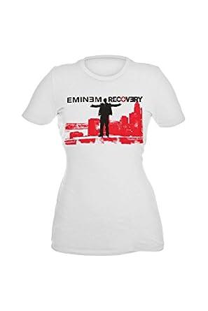 Eminem Recovery Girls T-Shirt Plus Size Size : XX-Large