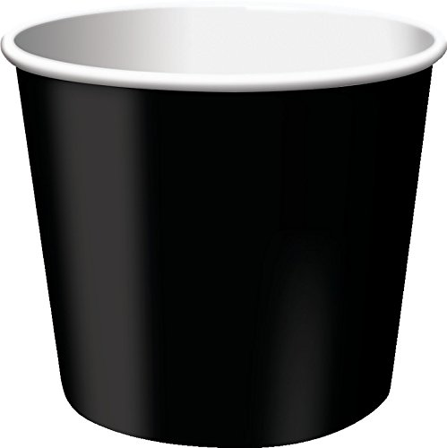 Creative Converting 6 Count Treat Cups, Black Velvet