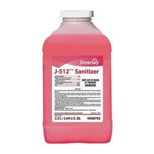 J-512 Sanitizer, 2.5 L, Quaternary, PK 2