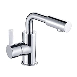 Amazon.com - Modern Designer Rotatable Brass Basin Faucet ...