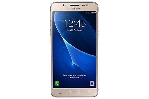 Samsung Galaxy J5 2016 Smartphone, Dual SIM, 16 GB, Oro